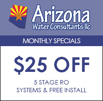 $25 Off 5 Stage RO Systems & FREE Install